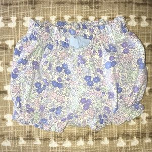 Baby gap floral bloomers size 3-6 months Girl